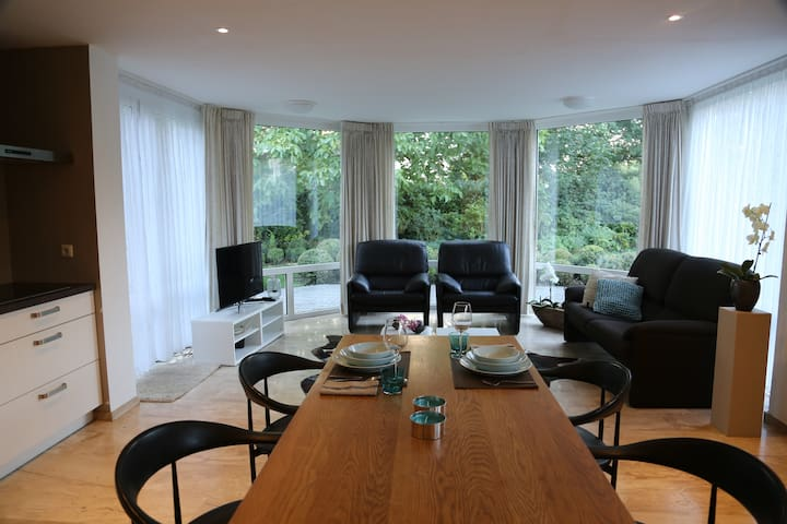 Luxurious apartment in urban nature at Roermond.