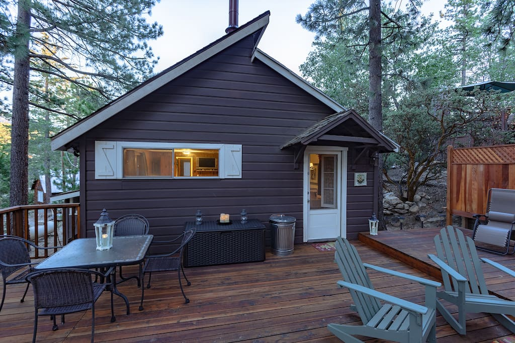 fernland cottage cabins for rent in idyllwild pine cove