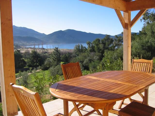 Charme luxe espace panorama bord de mer, 6 pièces. - Appietto - Villa
