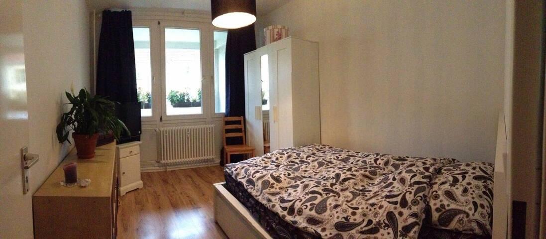 gemütliches Zimmer in Neukölln - Berlijn - Appartement