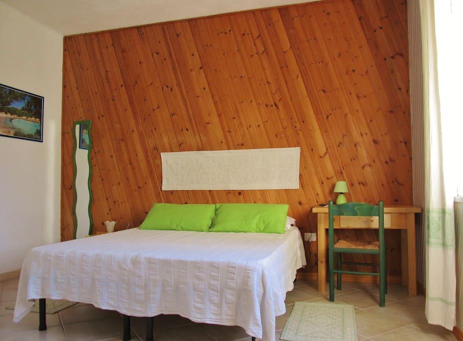 camera verde - green room