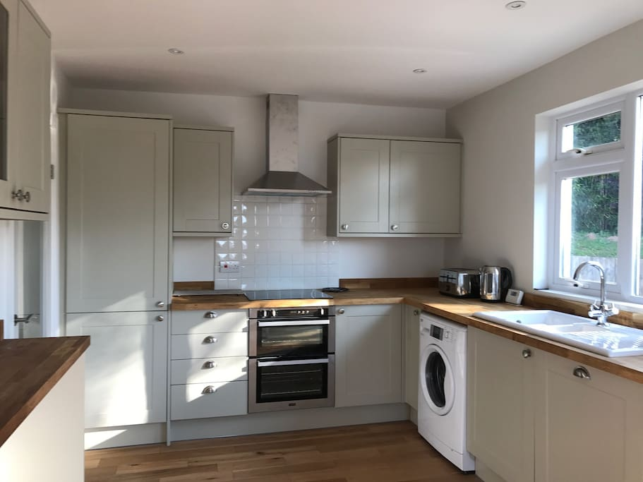 Brand new kitchen with all you need to make yourself at home