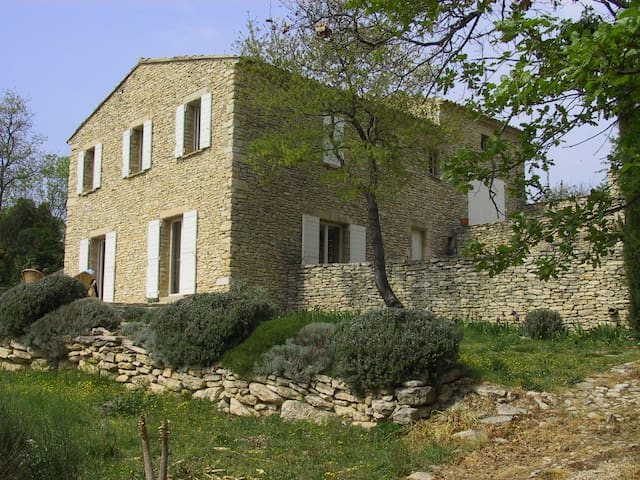 'mas' in the provence with view  - Gordes - Casa