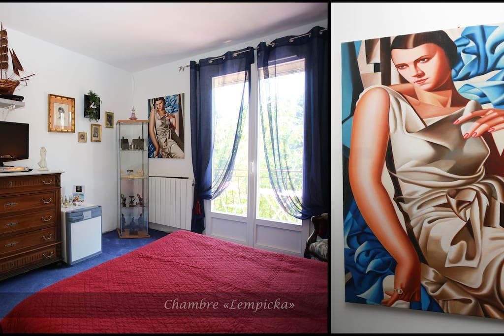 Chambre lempicka sur jardin chambres d 39 h tes louer - Chambres d hotes languedoc roussillon ...