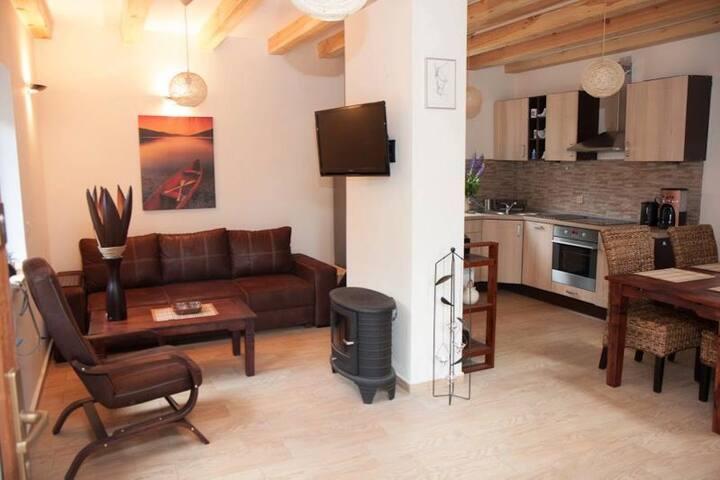 """""""Bobrowa Przystań""""- Apartament nr 2"""
