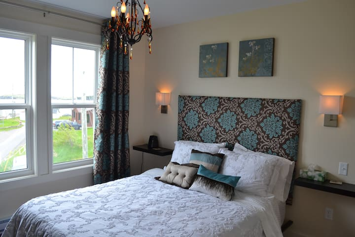 Light house and harbour view bedroom