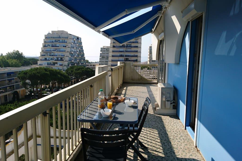 balcon (coté est)