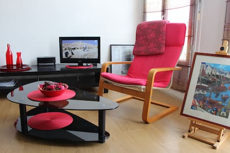 QUIET FLAT (2 main rooms)-HYPER CENTER-Cathedral - Quimper - Appartement