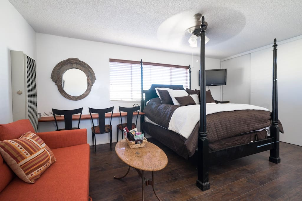 Enjoy all the comforts of home in this fully air conditioned and heated getaway!