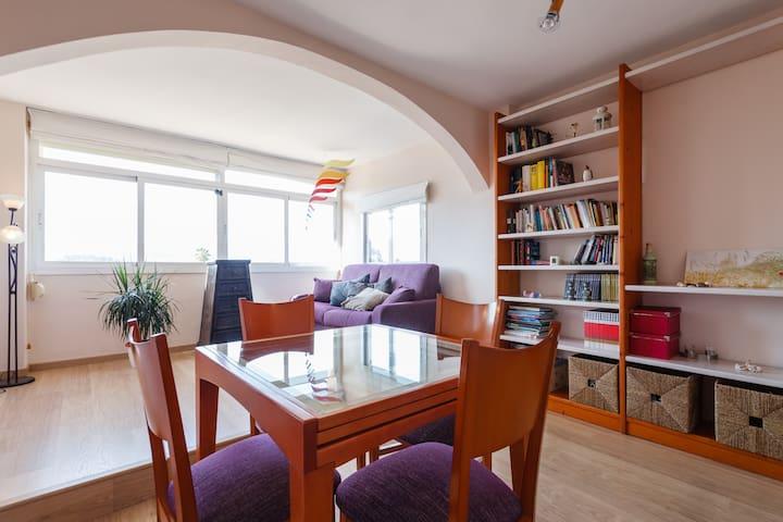 Acogedor apartamento con estupendas vistas - Palma - Wohnung
