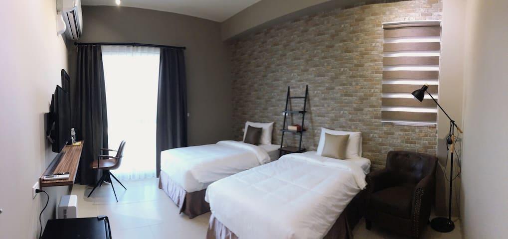 墾丁夢幻島 - 禾 旅 宿 -hoho雙床雙人房-獨立式浴缸- 每天都要吃早餐