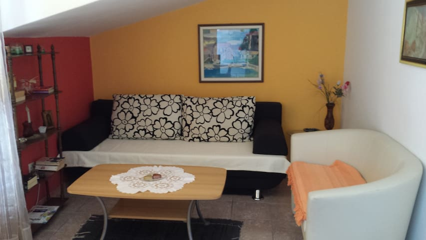 Apartment with large terrace and stunning view - Novigrad - Appartement