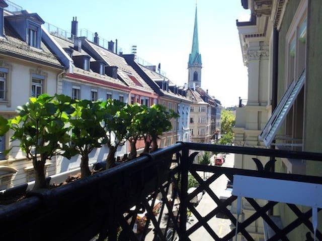 Balcony-Loft in old town