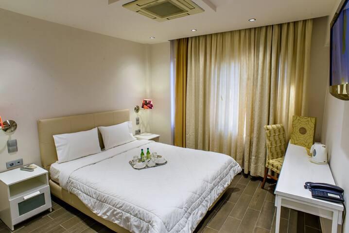 Double Room  - Pireas - ที่พักพร้อมอาหารเช้า