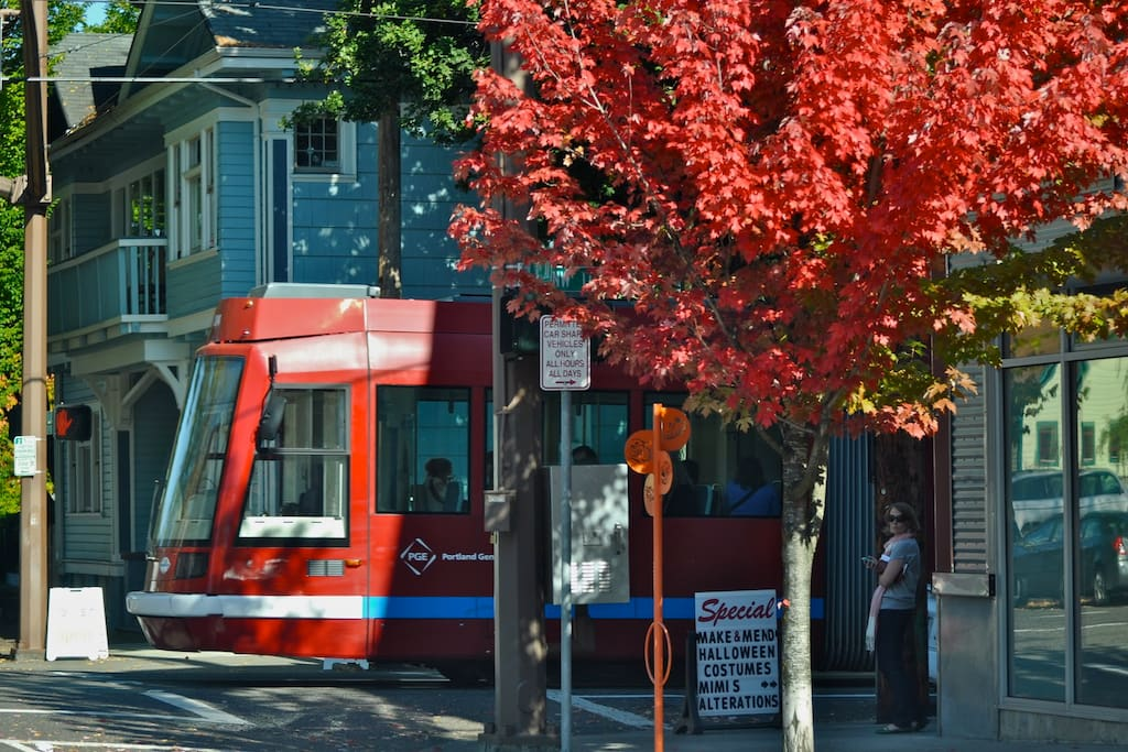 Easy full access to all 12 neighborhoods via the electric street car just outside our doors.