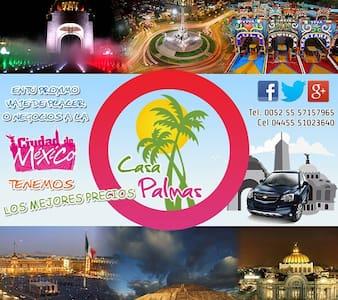 Ven a Casa Palmas en tu viaje a Méx - Tecámac de Felipe Villanueva - House