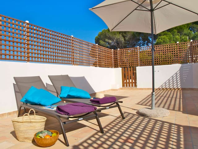 Apartment near beach in Cala Rajada - Capdepera - Lejlighed