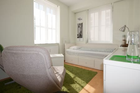 Neat room in the center of Linz - リンツ