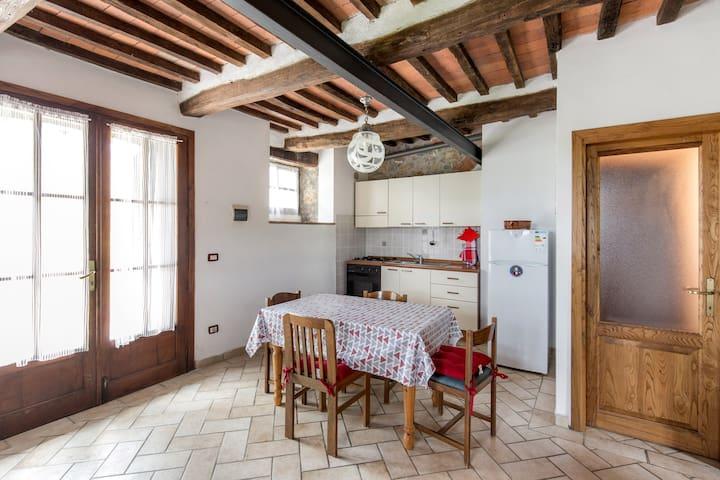 Podere Rachele - Casa Pettirosso - Montieri - Apartment