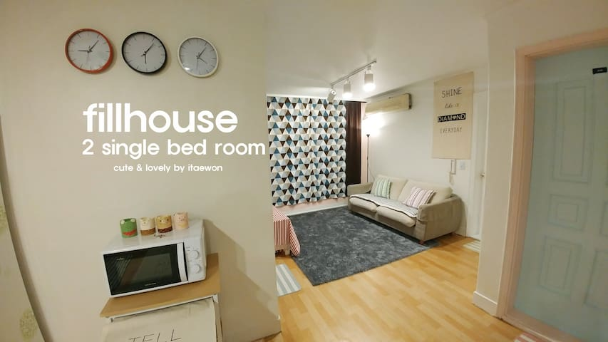 Cute & Lovely fillhouse 3 - ITAEWON - Yongsan-gu - House