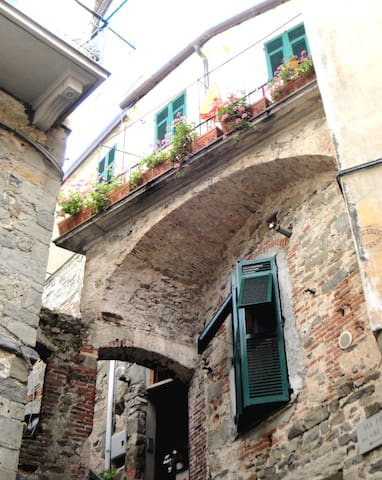 Cute studio room in Corniglia, heart of 5Terre - Corniglia - Apartemen