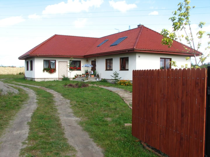 Nice room in house near Wroclaw