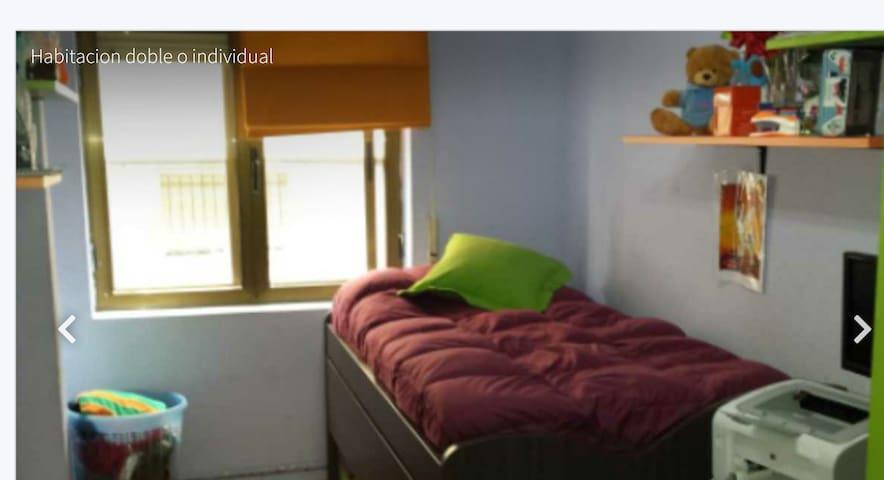 habitación doble - サラマンカ - アパート