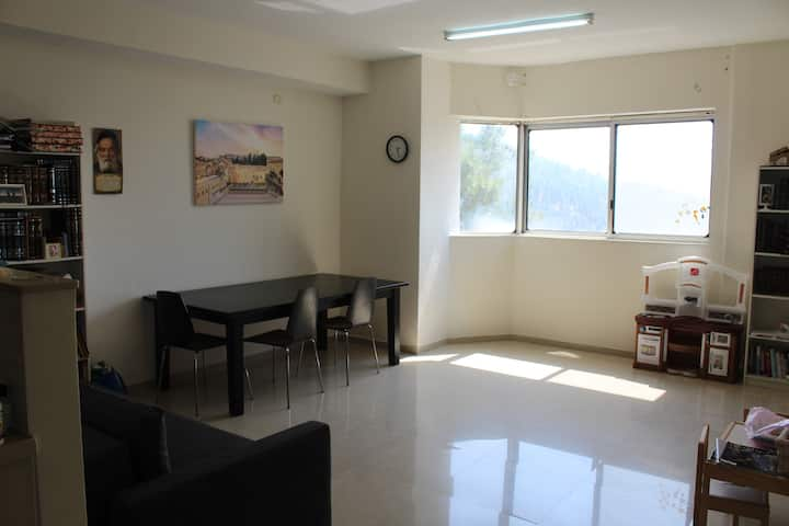 Modern, Bright Har Nof Apt With a Beautiful View