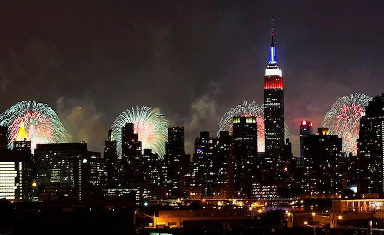AMAZING NYC BALCONY VIEWS -  LUXURY 2BR APARTMENT - Union City - Departamento