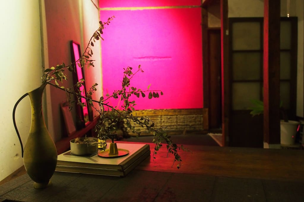 Living space【Gallery and atelier space】