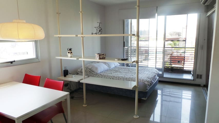 Modern Studio with balcony