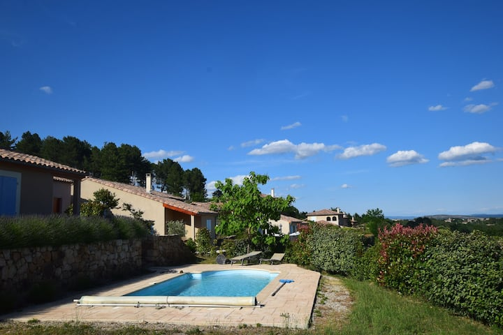 Beautiful Villa in Joyeuse with Private Pool