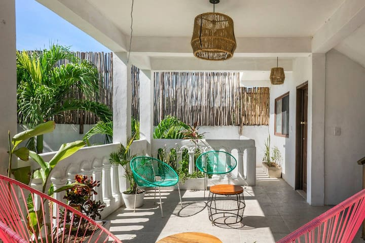 ❤ GREAT APARTMENT-BEST LOCATION IN TULUM TOWN! M3