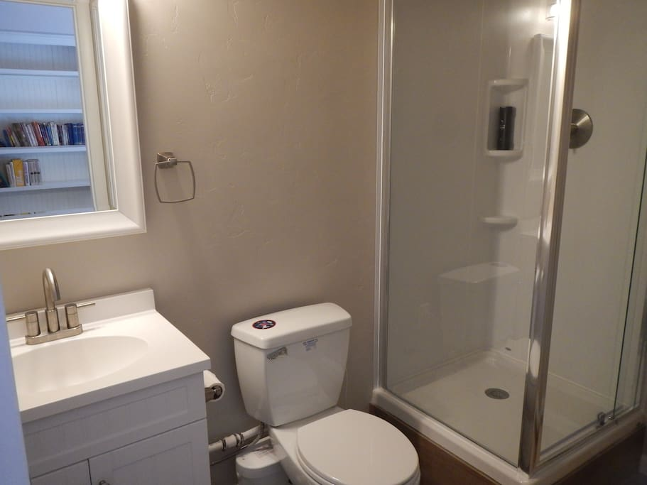 New private bathroom