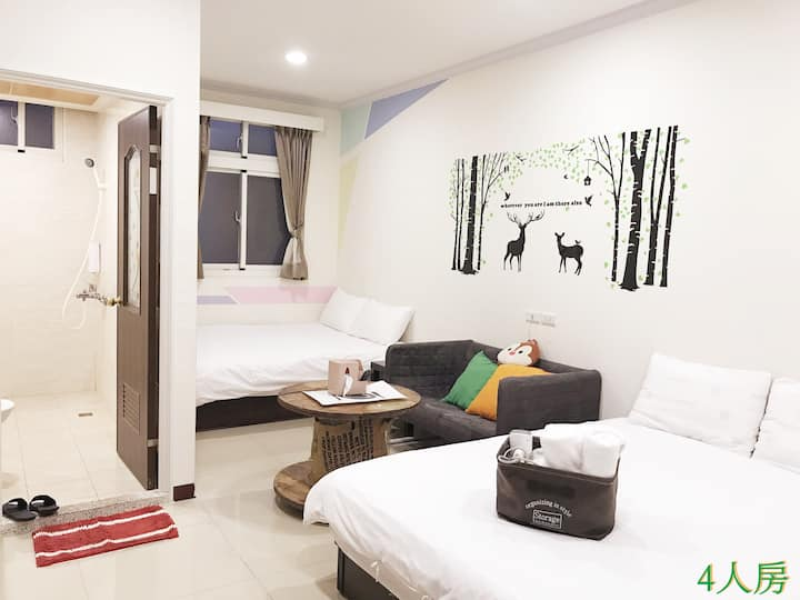 10% off every day,2~4 people room (5A),4~5 floor