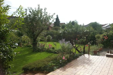 Little Flat with big Garden - Forst - Appartement