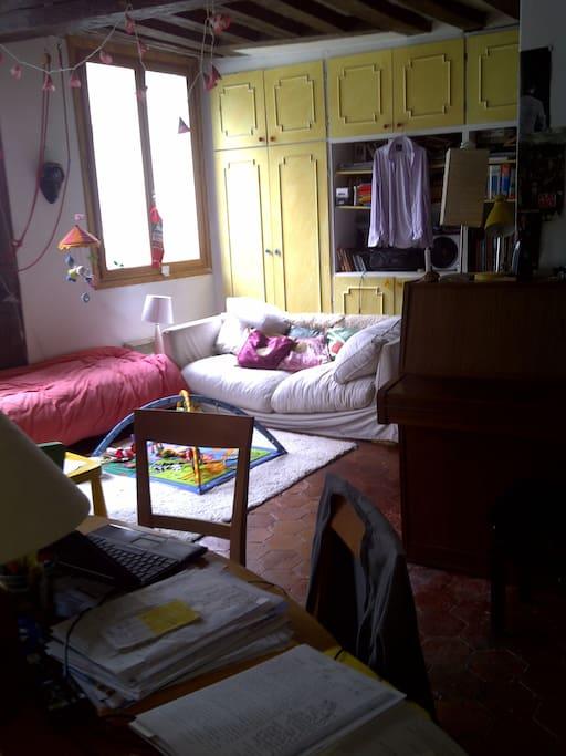 Main room from the opposite corner