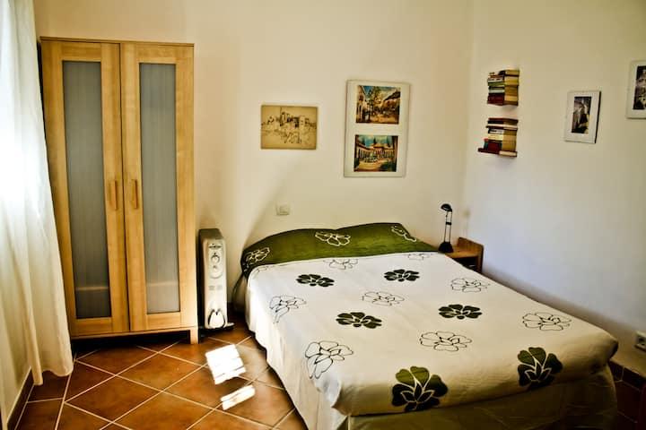 Nice, quiet double room in Albayzin