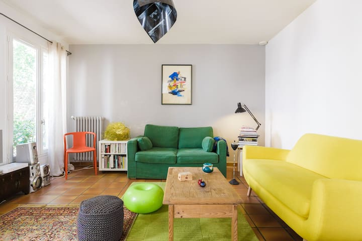 Beautiful duplex house in Paris 10 - Paris - Rumah