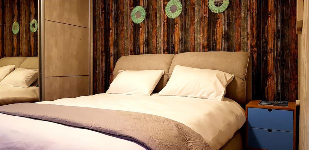Luxury Apartment Bedroom - City Apartments