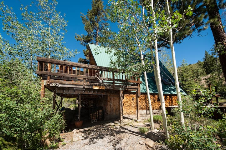 Relaxing Donner Lake cabin - Truckee - Casa