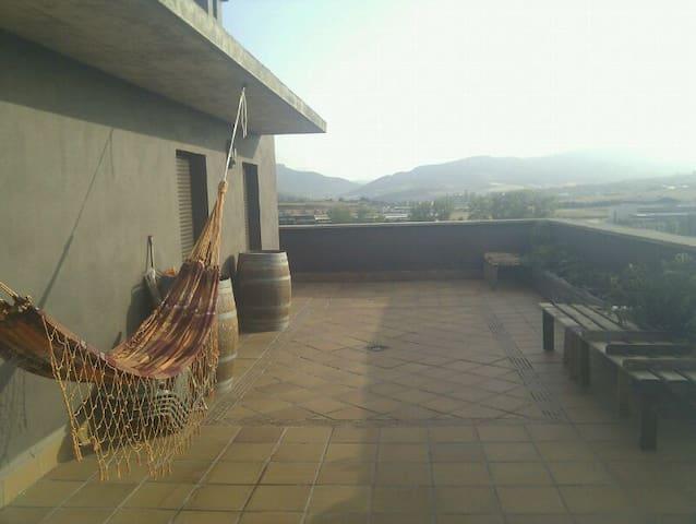 Attic Room/Habitación en ático - Sarriguren/Pamplona - 公寓