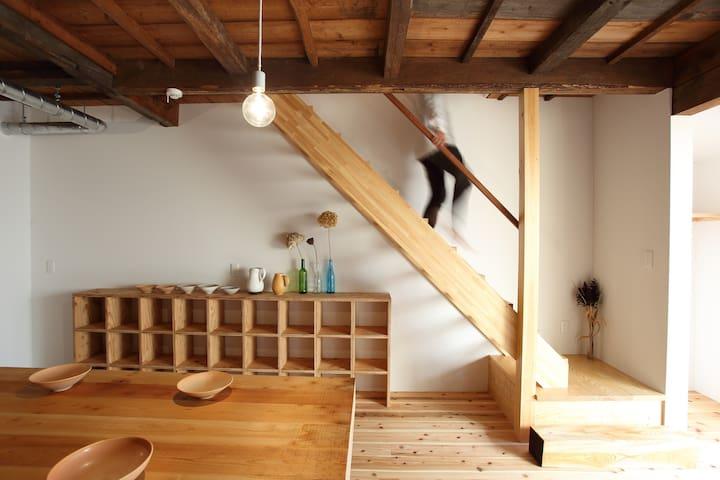 Traditional + Modern House◇73m2◇Namba Tennoji KIX◇