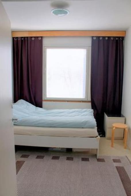 Bed room 2 with 140 x 200 cm bed