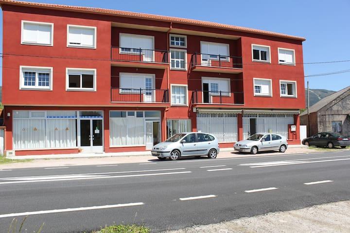 Apartment facing Carnota Beach - Carnota - Apartemen