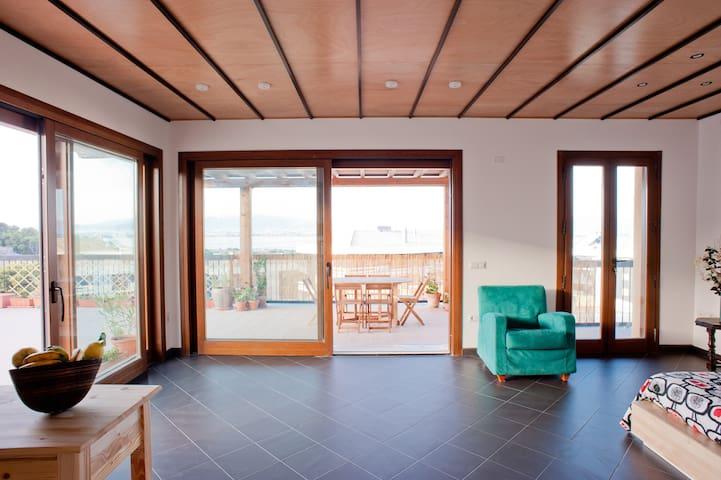 Panoramic penthouse  - Cagliari - Loft
