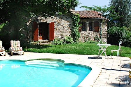 Superb stone house with heated pool - Saint-Jean-du-Gard