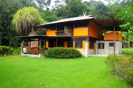 Private Beachfront Home in Matapalo - Puerto Jimenez