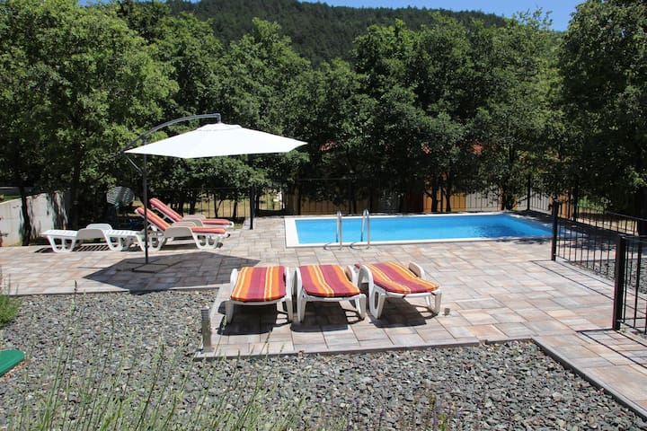 Dee's House & Pool, Labin/Rabac. - Rabac - House