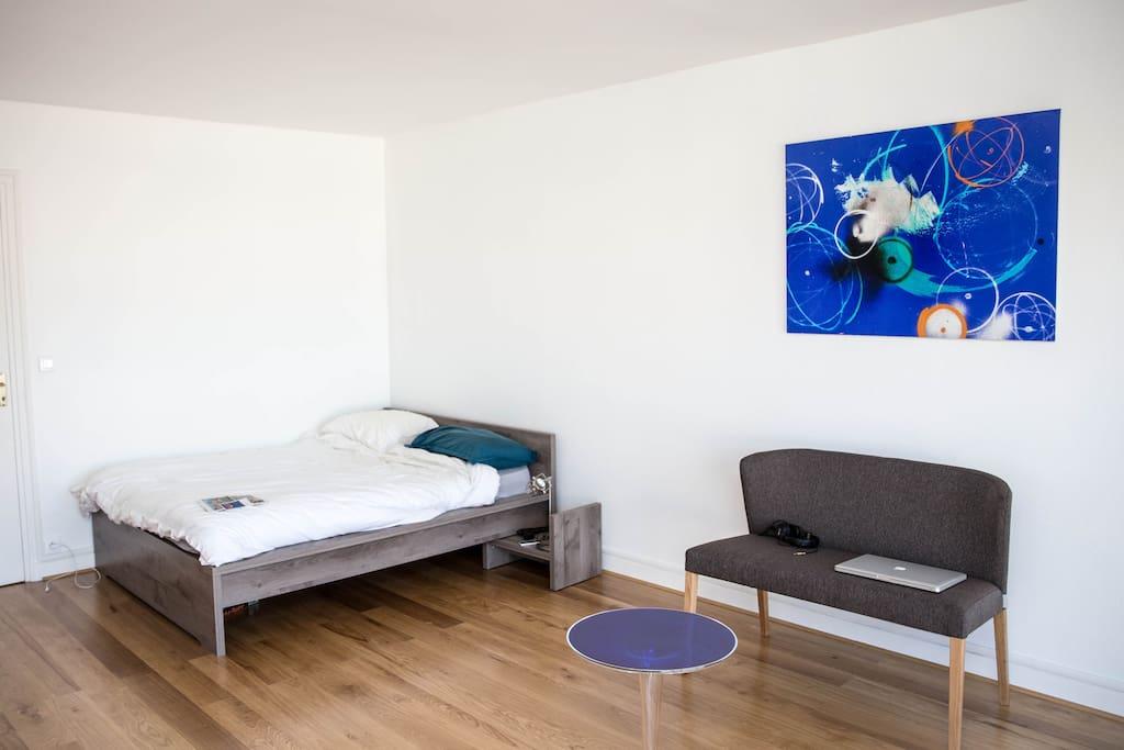 Design arty flat in montmartre with a view - Interieur appartement original et ultra moderne a paris ...